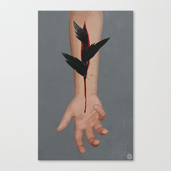 wanting to be Canvas Print