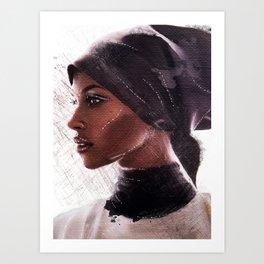 Jasmine Warsame Art Print