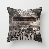 liverpool Throw Pillows featuring Liverpool St. by theGalary