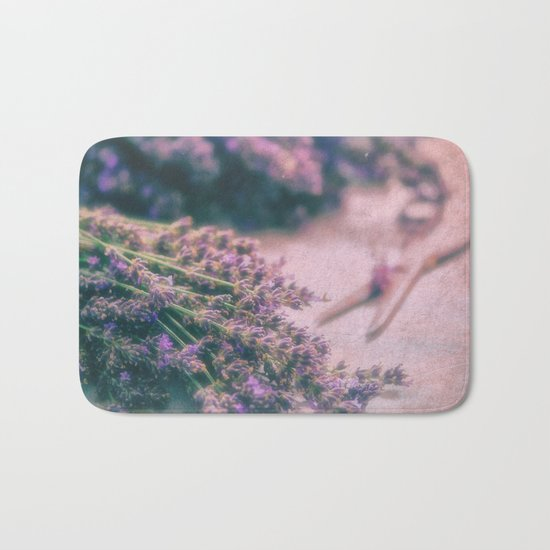 Lavender Revival Bath Mat