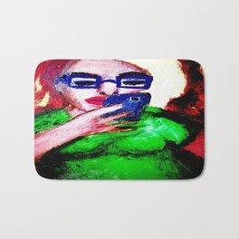 While The Sky Is Falling. Bath Mat