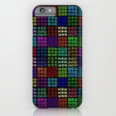 Aztec Wannabe (Black) Slim Case iPhone 6s