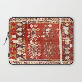 Hotamis  Antique Turkish Karapinar  Kilim Print Laptop Sleeve