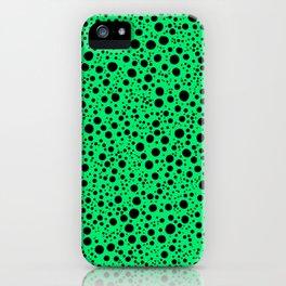 Dots Colorful Retro Art Pattern iPhone Case