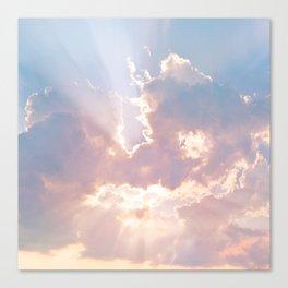 Sun Beams Canvas Print