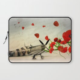 Fighter Command Tribute - Spitfire Laptop Sleeve