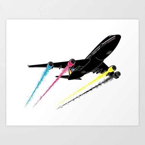 Ink Jet Art Print
