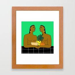 Parallel Movements  Framed Art Print