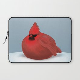 After Christmas cardinal bird Laptop Sleeve