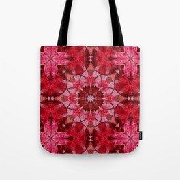 Cranberrybush Viburnum mandala Tote Bag
