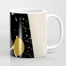 Black Hair No. 3 Coffee Mug