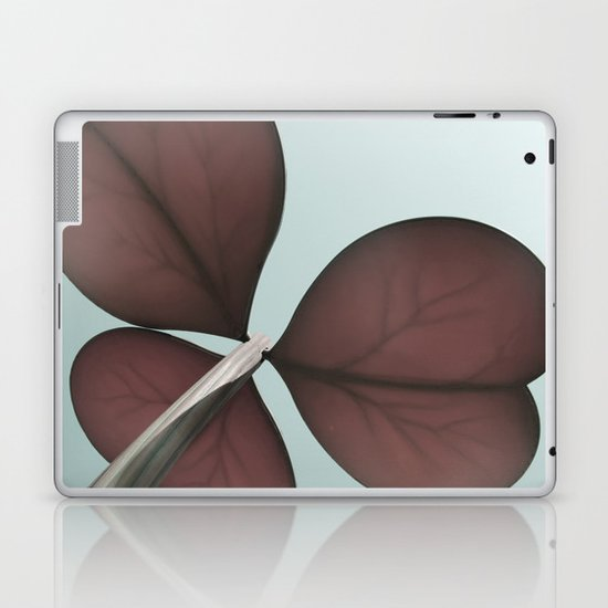 three leaf clover Laptop & iPad Skin