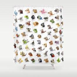 Marathon Animals Shower Curtain