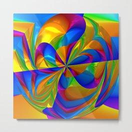 Color Twist Metal Print