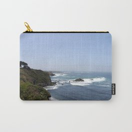 Crashing Waves On California Coastline Carry-All Pouch