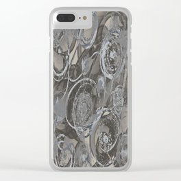 Sinister Wheels of Fear Clear iPhone Case
