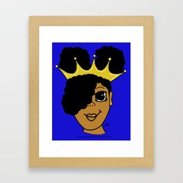 Royalty Framed Art Print
