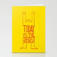 motivation Stationery Cards featuring Motivation by Joe McNeice