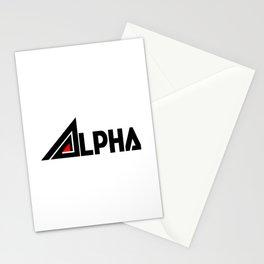 Alpha Denshi (アルファでんし) Logo Stationery Cards