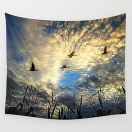 Peaceful morning Wall Tapestry