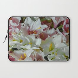 Pastel lilies Laptop Sleeve
