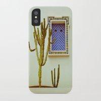 cactus iPhone & iPod Cases featuring Cactus by Sébastien BOUVIER