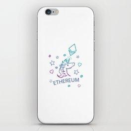 Ethereum Unicorn Premium iPhone Skin