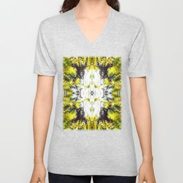 Leaves Blowing in the Wind Unisex V-Neck
