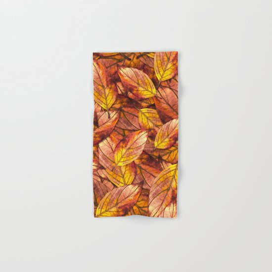 Autumn Leaves 03 Hand & Bath Towel