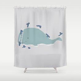 The Greatest Slide Shower Curtain