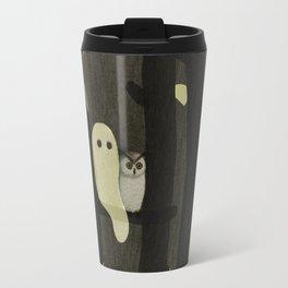 Little Ghost & Owl Travel Mug