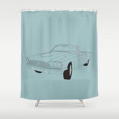 1966 Ford Thunderbird Shower Curtain