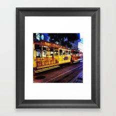 SFO Cable Car Framed Art Print