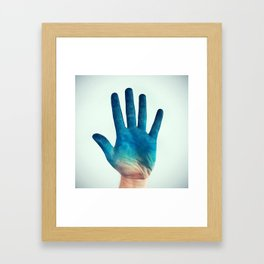 Algid Framed Art Print