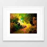 heaven Framed Art Prints featuring HEAVEN by 2sweet4words Designs
