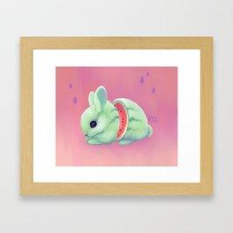 Bunnymelon Framed Art Print