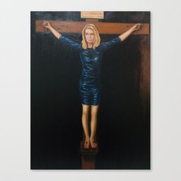 "Katie Hopkins ""Christ Crucified"" A nobilified creation Canvas Print"