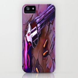 The Wheel Gun iPhone Case