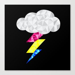 Pansexual Storm Cloud Canvas Print