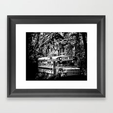 Out of Commission Framed Art Print