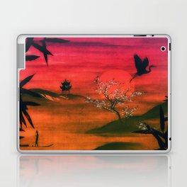 Oriental Sunset Laptop & iPad Skin