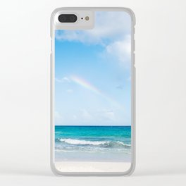 Under the Rainbow Clear iPhone Case