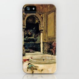 The Slaying Of The Abencerrajes - Digital Remastered Edition iPhone Case
