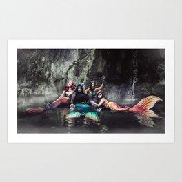 Siren Haunt Art Print