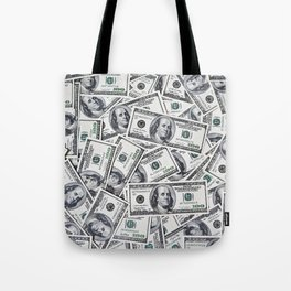 Hundred dollars bills Tote Bag