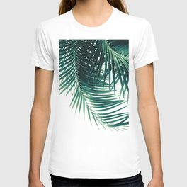 Palm Leaves Green Vibes #4 #tropical #decor #art #society6 T-shirt