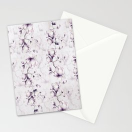 Lovely Mauve Magnolia Blossoms Stationery Cards