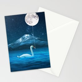 Dreams Make everything possible.... so, Dream Higher!!! Stationery Cards