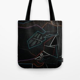 Cubist Trails Tote Bag
