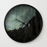 celtic Wall Clocks featuring Celtic ruin  by IvanaW